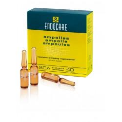 ENDOCARE 40% SCA AMPOULES - Pozabiegowe ampułki liftingujące