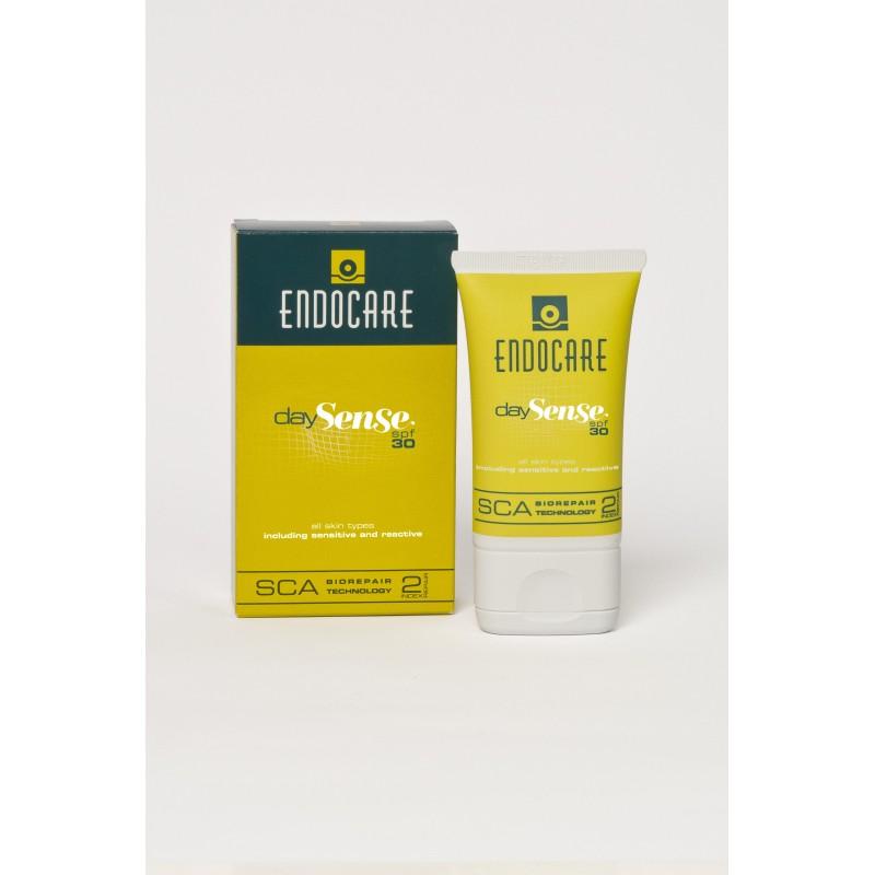 ENDOCARE 2% SCA SENSE DAY SPF 30 – Lekki krem nawilżający do skóry wrażliwej i skłonnej do podrażnień