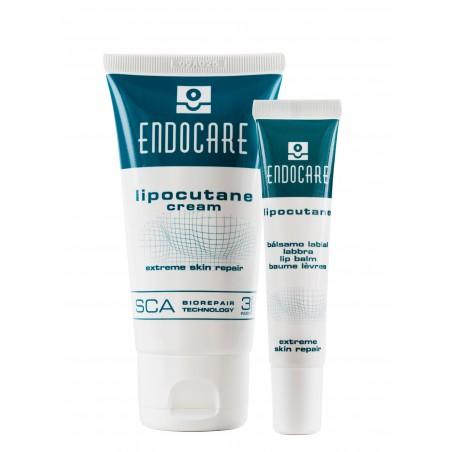 ENDOCARE 3% SCA LIPOCUTANTE DUO CREAM Balsam kremowy do podrażnionej skóry twarzy i spierzchniętych ust